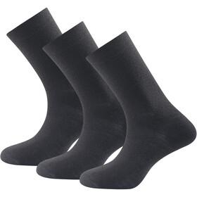 Devold Daily Light Sokken 3 Paar Dames, black